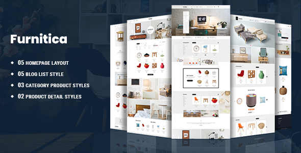 Furnitica - Minimalist Furniture HTML Template