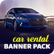 Car Rental Banner Pack - GraphicRiver Item for Sale