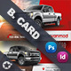 Commercial Vehicle Business Card Templates - GraphicRiver Item for Sale