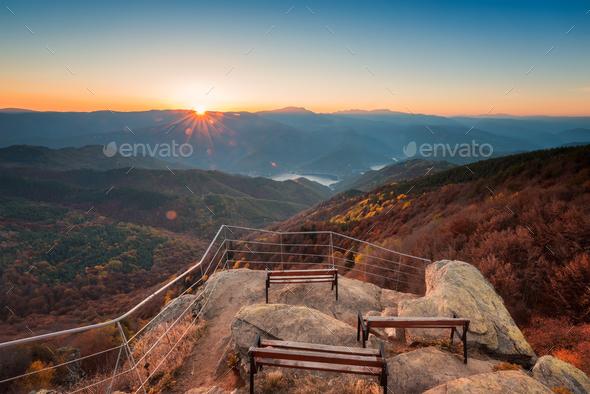 Autumn mountain - Stock Photo - Images
