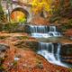 Autumn waterfall - PhotoDune Item for Sale