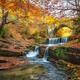 Autumn waterfall - PhotoDune Item for Sale
