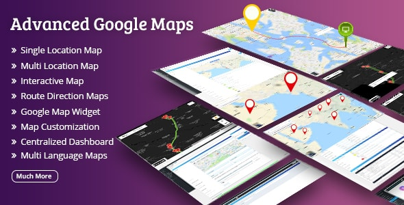 Advanced Google Maps - CodeCanyon Item for Sale