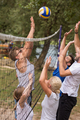 group of young friends playing Beach volleyball - PhotoDune Item for Sale