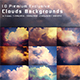 Clouds Backgrounds - GraphicRiver Item for Sale