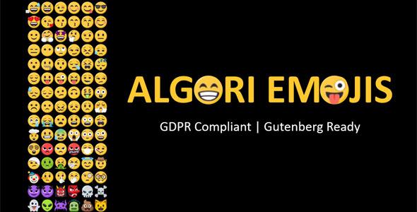Algori Emojis for WordPress Gutenberg            Nulled