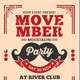 Movember Moustache Party - GraphicRiver Item for Sale