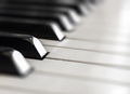 Blurred of Piano keyboard background - PhotoDune Item for Sale