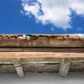 Old gutter against blue sky - PhotoDune Item for Sale