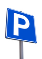 Free parking sign - PhotoDune Item for Sale