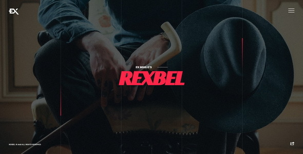 Rexbel - Photography Portfolio Template - Portfolio Creative