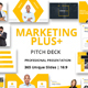 Marketing Plus Powerpoint Template - GraphicRiver Item for Sale