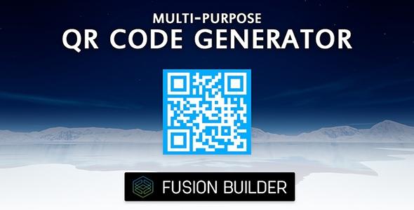 Fusion Builder Multi-Purpose QR Code Generator Element Addon for Avada v5 - CodeCanyon Item for Sale
