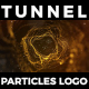 Particles Tunnel Logo - VideoHive Item for Sale