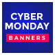 Cyber Monday Sale Web Banner Set - GraphicRiver Item for Sale