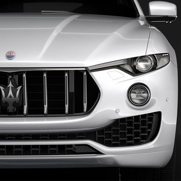 Maserati Levante 2018 - 3DOcean Item for Sale