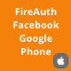 FireAuth - Sign in and Sign up with Email, Facebook and Google iOS Utility Tool - CodeCanyon Item for Sale