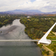 Aerial View Sacramento River Redding California Bully Choop Mountain - PhotoDune Item for Sale