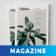 Sigala Clean Magazine Template - GraphicRiver Item for Sale
