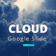 Cloud Google Slide Presentation Template - GraphicRiver Item for Sale