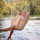 blonde woman resting on hammock - PhotoDune Item for Sale