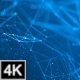 Plexus Background Circle - Blue 4K - VideoHive Item for Sale