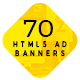 Free Download 10 Animated HTML5 Ad Banners Bundle Nulled