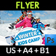 Kids Winter Camp Flyer Template - GraphicRiver Item for Sale