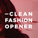 Clean Fashion Opener - VideoHive Item for Sale