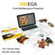 Omega Food Multipurpose Keynote Template - GraphicRiver Item for Sale