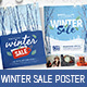 Winter Sale Poster / Flyer Template - GraphicRiver Item for Sale