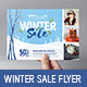 Winter Sale Flyer Template - GraphicRiver Item for Sale