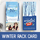 Winter Sale DL Rack Card - GraphicRiver Item for Sale