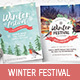 Winter Festival Poster / Flyer Template - GraphicRiver Item for Sale