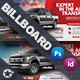 Commercial Vehicle Billboard Templates - GraphicRiver Item for Sale