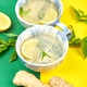 Healthy tea two cups with lemon, ginger, mint - PhotoDune Item for Sale