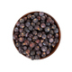 Dried juniper berries in wooden bowl - PhotoDune Item for Sale