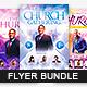 Church Flyer Bundle Set 3 - GraphicRiver Item for Sale