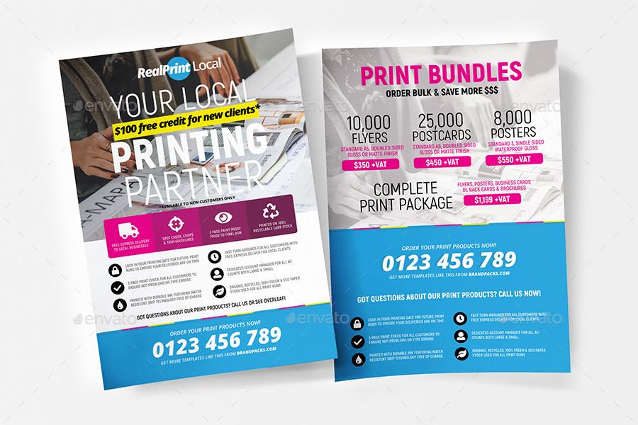 Printing Shop Flyer / Poster