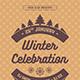 Winter Celebration Flyer - GraphicRiver Item for Sale