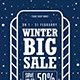 Winter Big Sale Flyer - GraphicRiver Item for Sale
