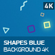 Shapes Blue Background - VideoHive Item for Sale