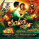 Salsa Night Party Flyer-Graphicriver中文最全的素材分享平台