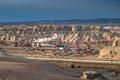 oil field and wind erosion landform  - PhotoDune Item for Sale