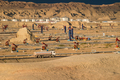 gobi oil field operation area closeup - PhotoDune Item for Sale