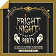Fright Night - Halloween Flyer - GraphicRiver Item for Sale