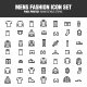 Mens Fashion Icon Set - GraphicRiver Item for Sale