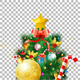 Christmas Tree with Toys - GraphicRiver Item for Sale