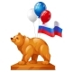 The Bear Statue is a Symbol of Power - GraphicRiver Item for Sale