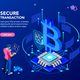 Cryptocurrency Isometric Concept - GraphicRiver Item for Sale